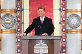 El Sr.David Miscavige, Presidente de la Junta de Religious Technology Center y líder eclesiástico de la religión de Scientology, inauguró la nueva Iglesia de Scientology del Gran Cincinnati.