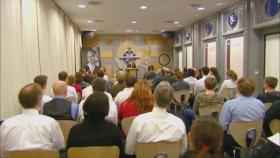 La capilla de Iglesia de Scientology de Berlín es el escenario para los servicios dominicales, bodas y bautizos.